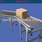 YA-VA Power Rolling Conveyor Line, Electric Chain Driving Roller Conveyor System