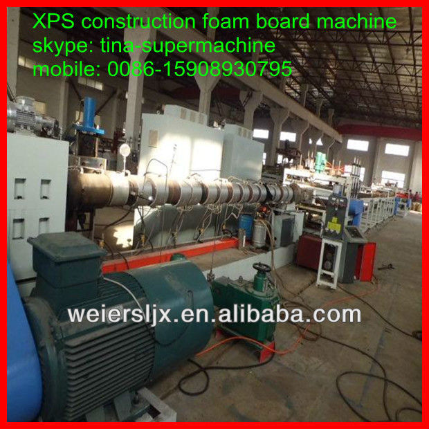 china reliable supplier qingdao weier xps foam board making machine