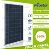 Top Chinese Pv Solar Panel Manufacturer 4Bb 260 Watt Solar Panel Poly 260W Solar Module 260 Wp