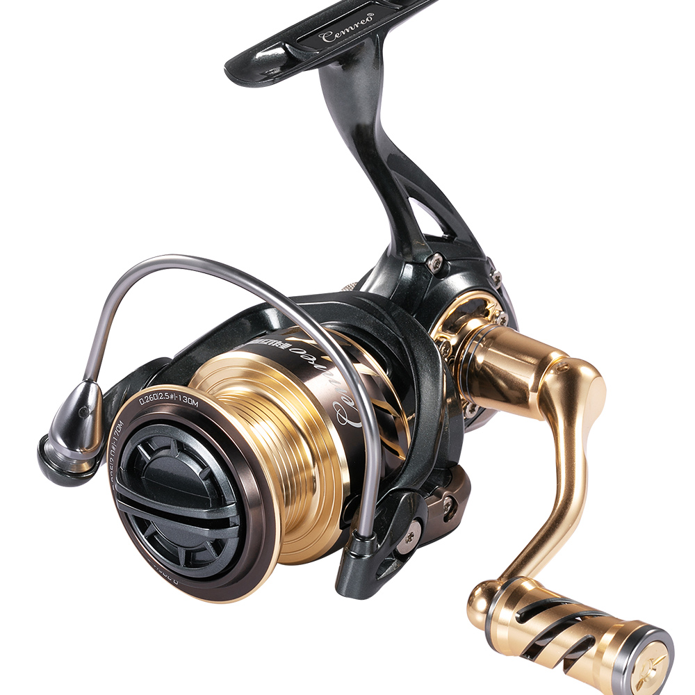 CEMREO Best Quality 11+1BB 5.2:1 Full Metal Spinning Fishing Reel