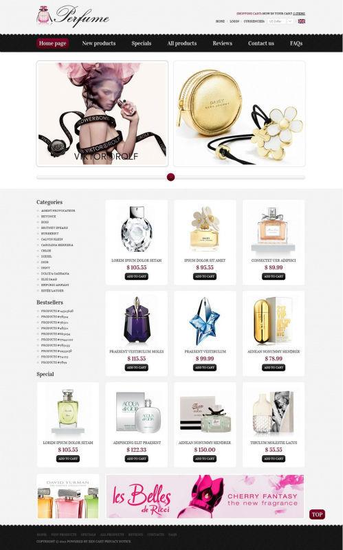 web perfume