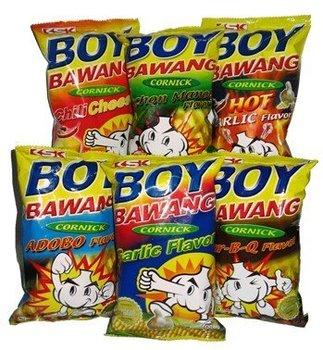 boy bawang Boy bawang chichacorn garlic flavour boy bawang chichacorn garlic flavour 100g bag product of philippines $199 $199 buy now: boy bawang cornick chilli cheese flavour.