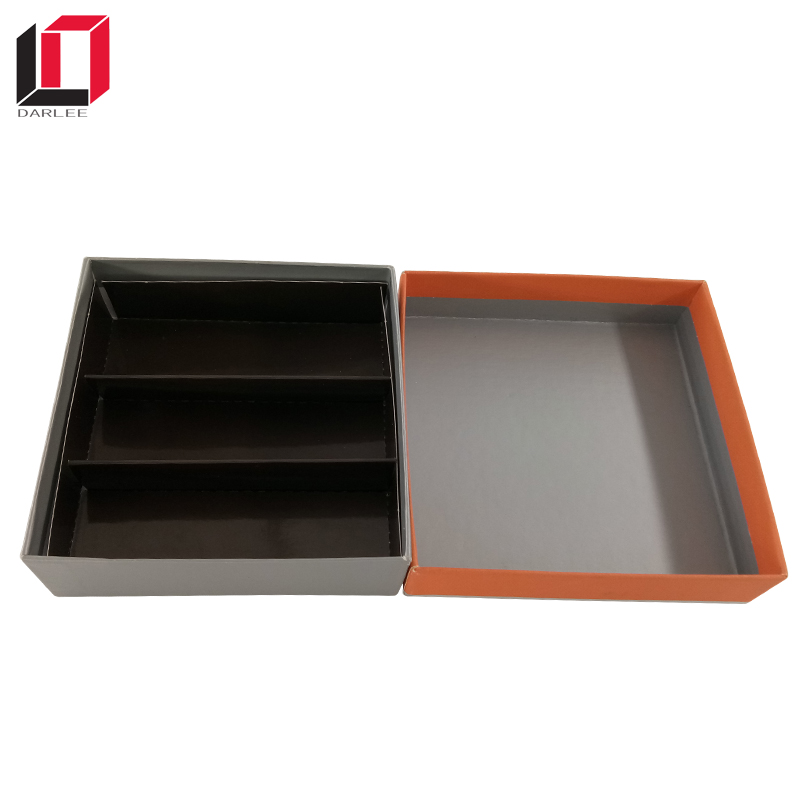 China factory machine bulk make square shape luxury chocolate gift packaging box with custom logo printing