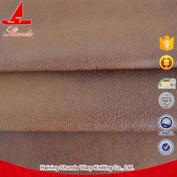 Vente Chaude  Polyester Gros Tissu DAmeublement En Daim Pour