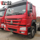SINOTRUK 420 HP HOWO 6x4 used tractor truck head and trailer head for sale