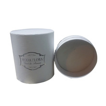 packaging cardboard eco-friendly round cylinder gift box