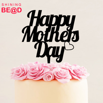 Happy Mothers Day Cake Topper For Mommy Gift Made In China