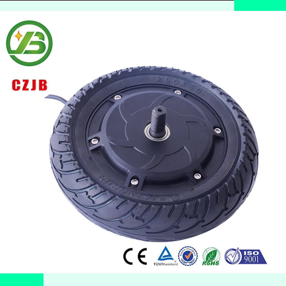 CZJB-8'' 250w 8 inch brushless gearless electric scooter hub motor