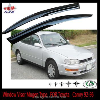 Window Visor For Camry 92 96 4door White Export Foreign Car Door Visors Toyot