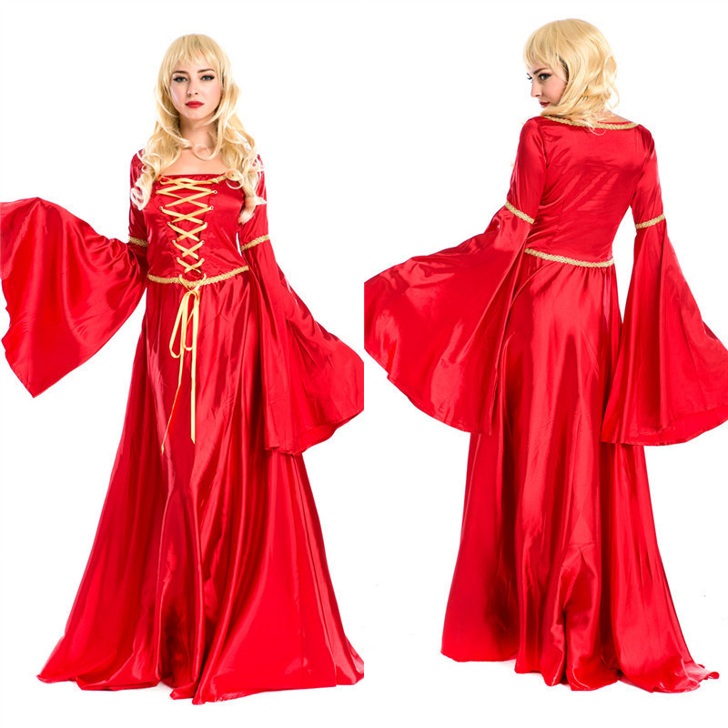 Get Quotations · Halloween Costumes For Women Fancy Dress Adult Queen  Princess Belle Cosplay Carnival Costume Rapunzel Costumes 4d7464a4aace