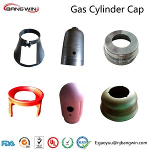 TOP1 w80-11 thread gas cylinder cap for kinds of cylinders by bang win