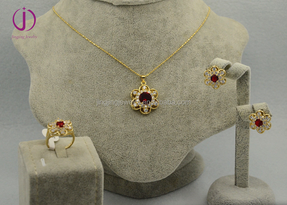 Dubai 18 Carat Gold Jewelry Sets Wholesale Jewelry Set Suppliers