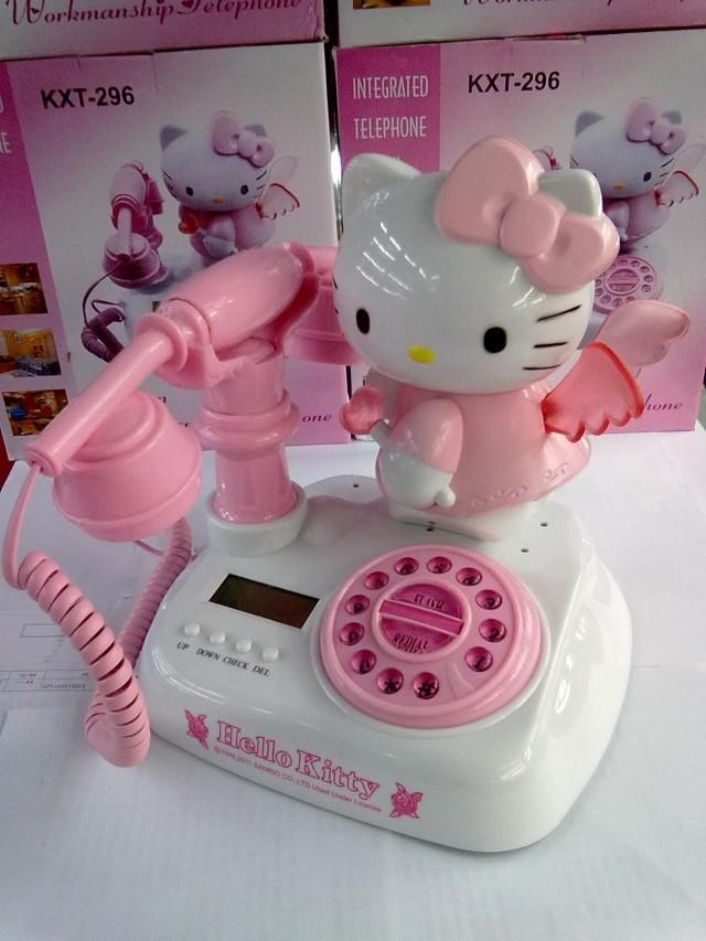 popular hello kitty telephone buy cheap hello kitty telephone lots from china hello kitty. Black Bedroom Furniture Sets. Home Design Ideas