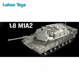 502d23984d2f 2018 Heng Long Tank 2.4G 1 8 scale RC Full metal Tank US M1A2