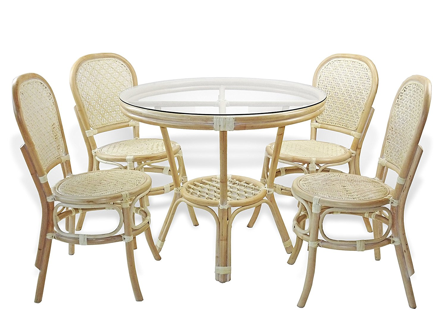 Cheap Glass Round Dining Table And Chairs Find Glass Round Dining - White wicker round dining table