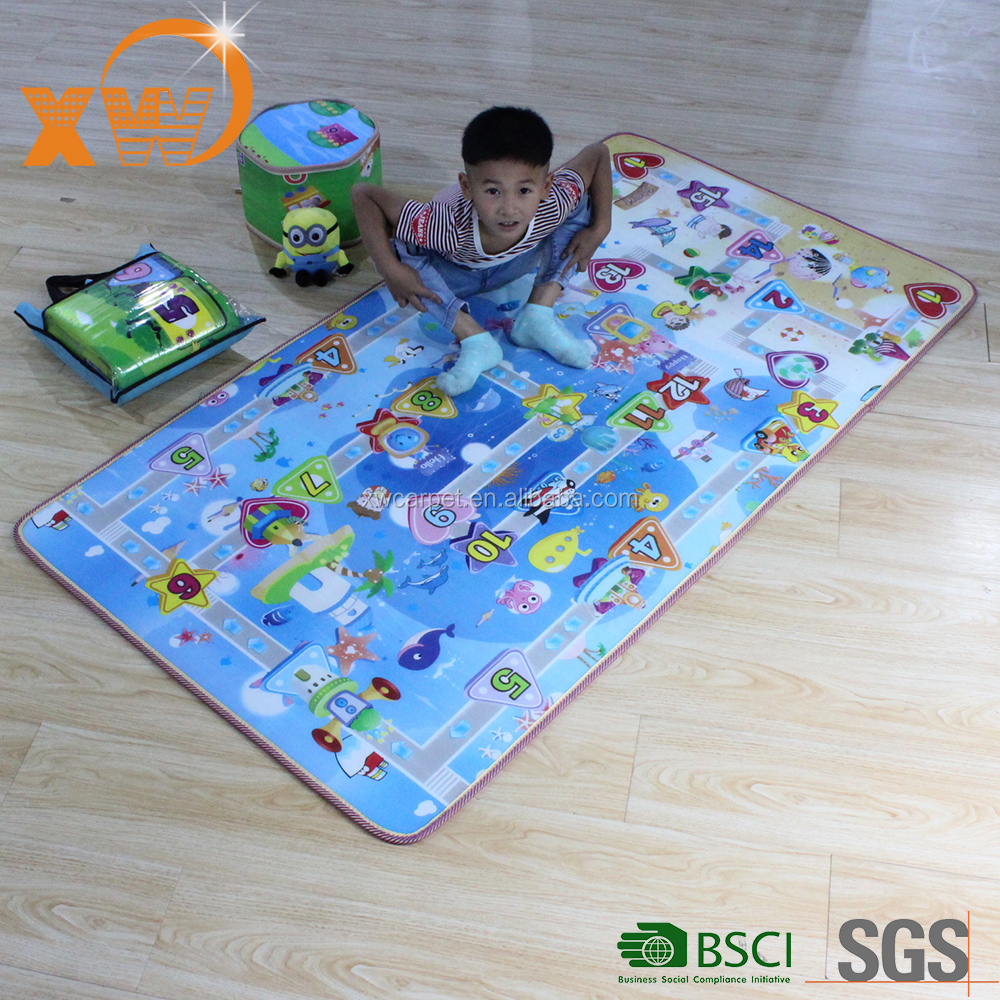 Hot Kids Baby Educational Alphabet Game Play Mat 180x150cm Children Floor Crawl Learning Home Outdoor Rug