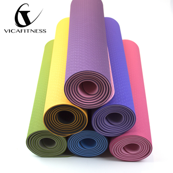 Premium Sublimation Private Label Yoga Mat With Strap