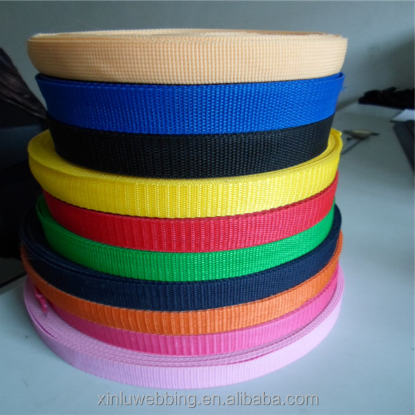 Customized colorful lawn chair webbing wholesale from manufacturer
