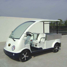 CE approved Two Seater electric small cargo car DU-N4