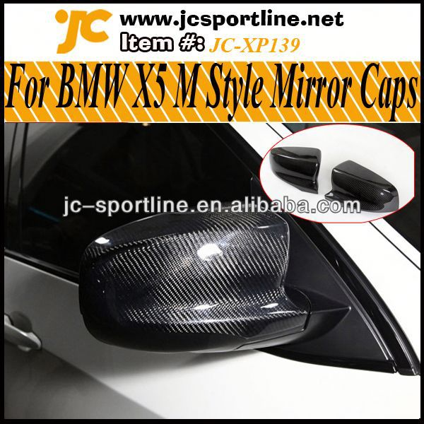 09~13 M Style Carbon X5 Mirror covers,Rear View Side Car Mirror For BMW X5 E70 X5 Car Mirror