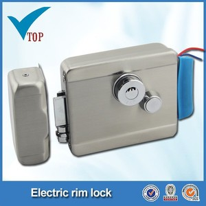 electric rim night latch electric meter barrel lock key