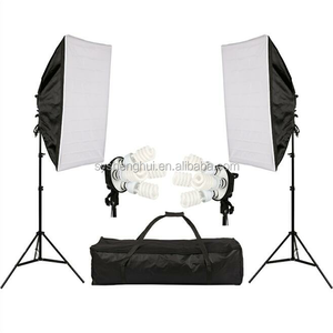 Photographic equipment 2 x Continuous Light Kit soft box Photo Studio kit