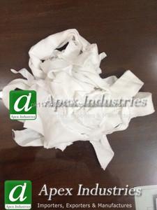 White Hosiery Cotton Clips