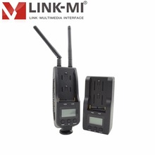 LINK-MI LM-WHD100C 1080p HD Video Audio 100m Wireless Cable TV Transmitter/Receiver System for live television