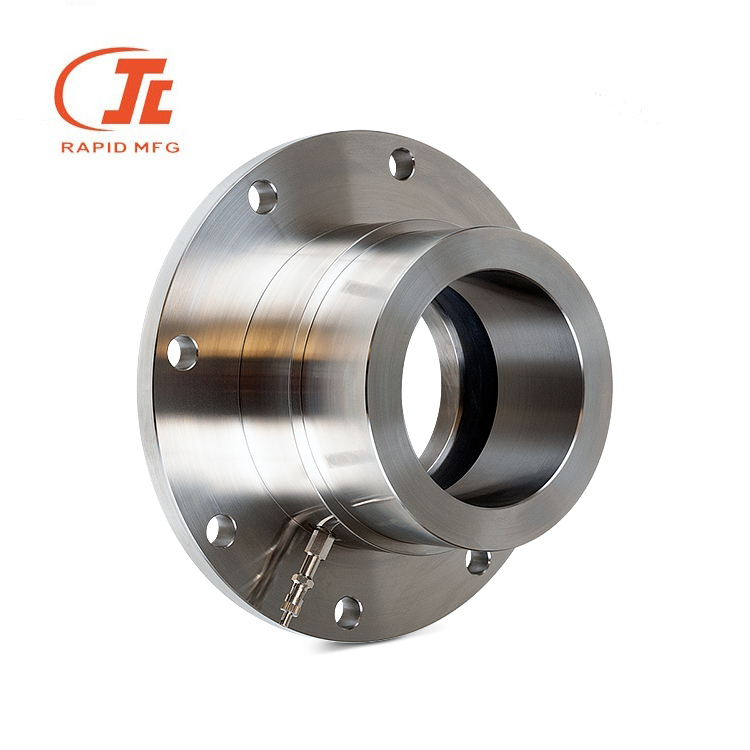 Customized Stainless Steel CNC Machining Turning <strong>Parts</strong>, Flanges and Fittings
