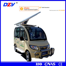 China manufacturer 4 wheel passenger vehicle/four wheel solar electric car for sale