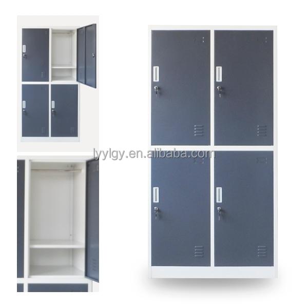 4 Door Baby Wardrobe Steel Wardrobe Design Metal Wardrobe Closets Locker    Buy Steel Or Iron Wardrobe Locker,Steel Baby Wardrobe,Metal Clothes Locker  ...