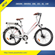 36V 11Ah Light Women Bicycle City Bike 250W For Shopping With Rear Seat