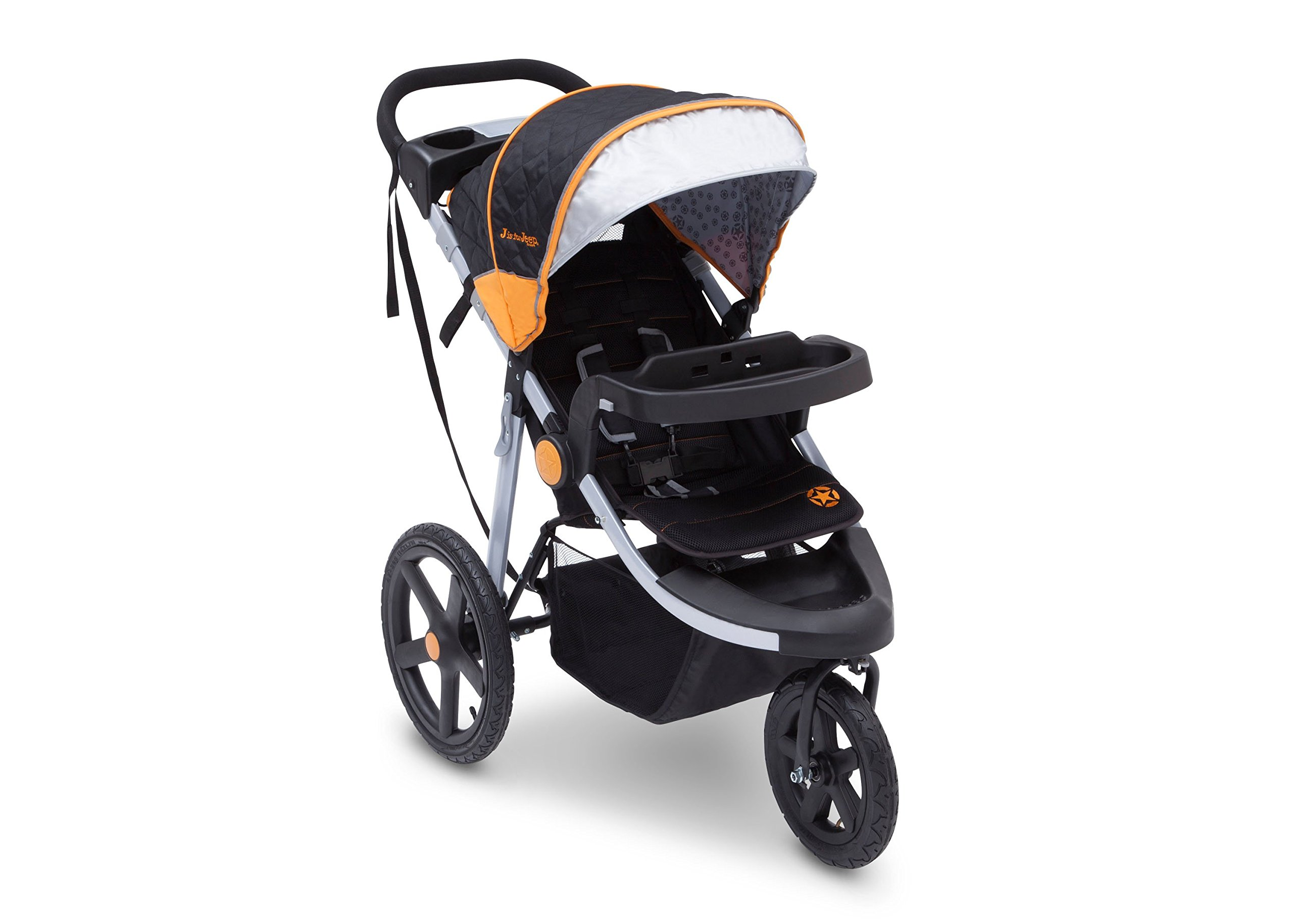 Get Quotations · J Is For Jeep Brand Adventure All Terrain Jogging Stroller