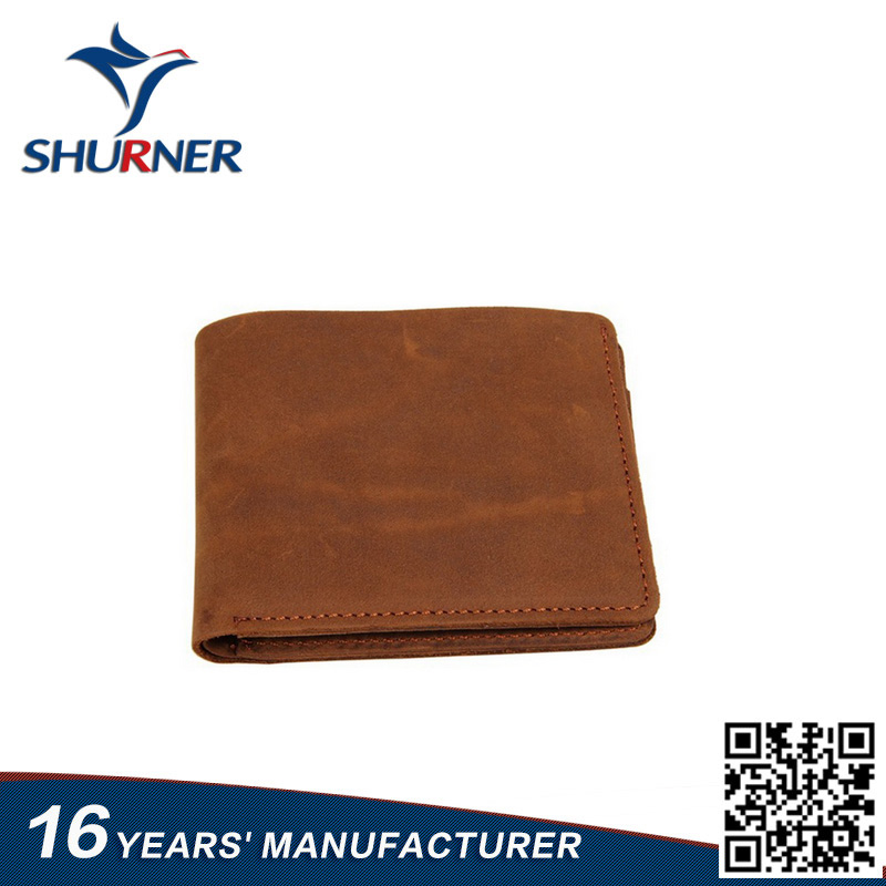 beauty fashion purses Genuine mens wallet leather
