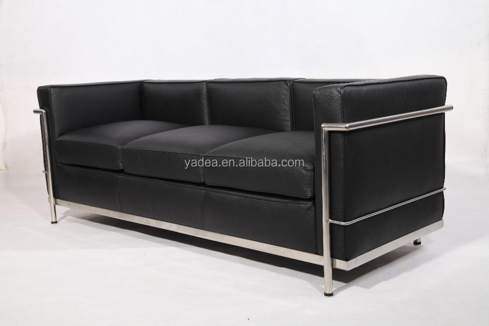 Bauhaus leather sofa bauhaus leather sofa centerfieldbar for Bauhaus sofa le corbusier