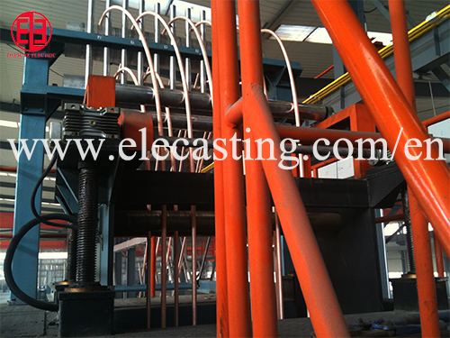 Copper bar manufacturing machine oxygen free copper bar production line