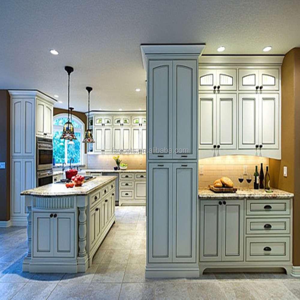Precio razonable dise o nico blanco uv gabinete de cocina for Precio cocina diseno