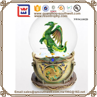 Custom Snow Globe Statue Water Filled Snow Globe Custom Made Water ...