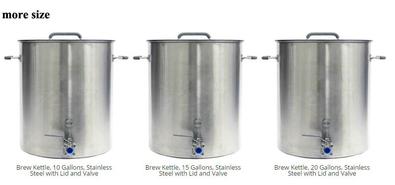 Professional And Innovated Stainless Steel Commercial Beer Brewing Equipment