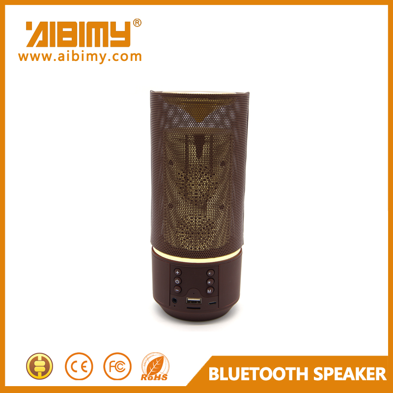 Made in China Aibimy Fabric retro bluetooth speaker with FM