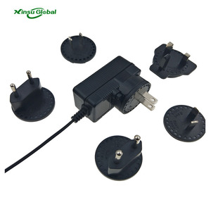 UL CE GS C-tick class 2 interchangeable plug ac dc power adapter 12v 500mA 1A 2A 3A 4A 5A