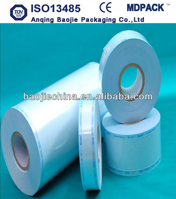 disposable plastic film roll for medical use