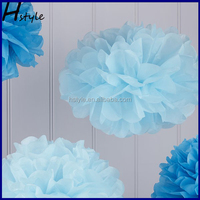 Tissue Paper Pom Poms8''10''12''16'' Redyellow Colour Little Girls Party Decoration/Valentines Day Decorations/Baby Shower SD002