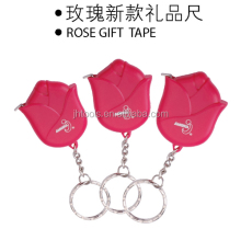 ABS charming Rose looking 1m universal Mini measuring tape for promotional