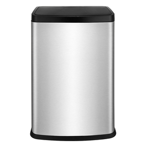 Environmentally friendly 40 liter innovative infrared smart belt inner barrel trash can suitable for hotel use