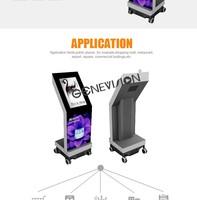Wholesale 21.5inch Movable Digital Kiosk Portable Media Player ...