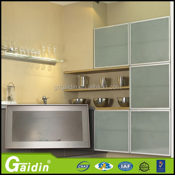 Neue Modell Küchenschrank Glastür/aluminium Küchenschrank Türen ...