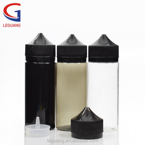 PET 10ml 30ml 60ml 100ml 120ml black cosmetics packaging vape pen shape bottle for e-cig e liquid