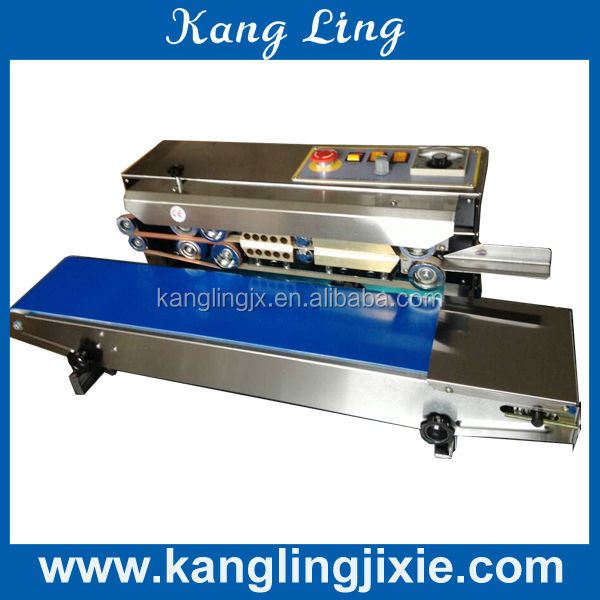 Plastiktüte band sealer/bag endlosband sealer