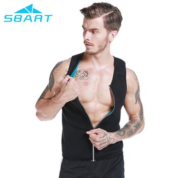 d074d209be Men Front Zipper Neoprene Vest Weight Loss Shapewear slimming Body Hot  shaper Top